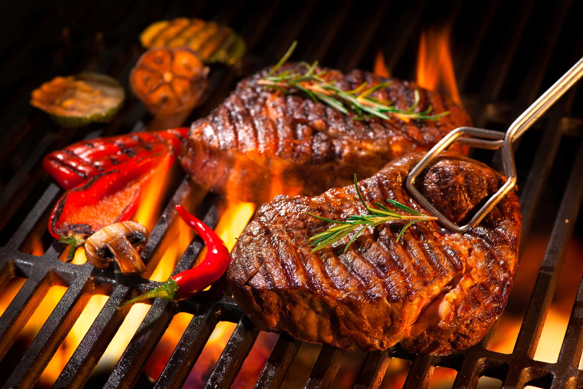 Summer cookout sizzle
